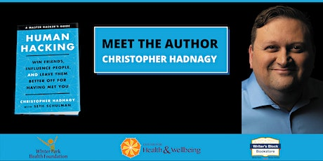 Meet the Author of Human Hacking – Christopher Hadnagy (Webinar) tickets
