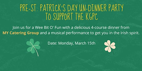 Pre-St. Patrick's Day Un-Dinner Party tickets