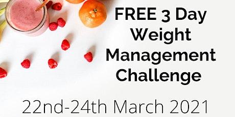 Free Weight Management Challenge tickets