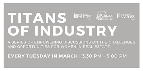 Titans of Industry:  A Fireside Chat with Leading Female Executives tickets