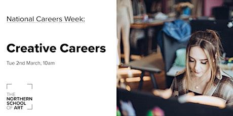 National Careers Week - Creative Careers tickets