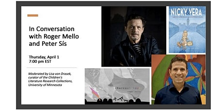 In Conversation with Roger Mello and Peter Sís tickets