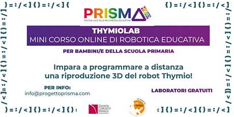 THYMIOLAB: mini corso online di robotica educativa biglietti