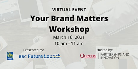 Your Brand Matters Workshop tickets