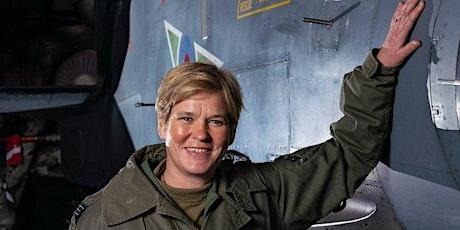 IWD - #ChooseToChallenge Mandy Hickson Pioneering female RAF pilot tickets