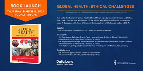Book Launch - Global Health: Ethical Challenges tickets