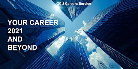 GCU Santander Internship Programme: Planning for your (virtual) Internship tickets