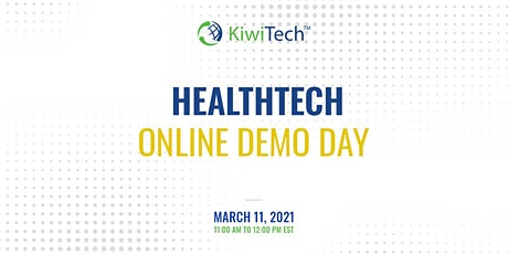 KiwiTech's Online Demo Day - HealthTech tickets
