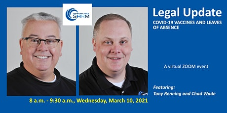 March 2021 Oshkosh Area SHRM Chapter Meeting: Legal Update tickets