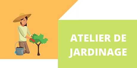Atelier de jardinage avec Jeanne d'Arc Lavoie ingressos