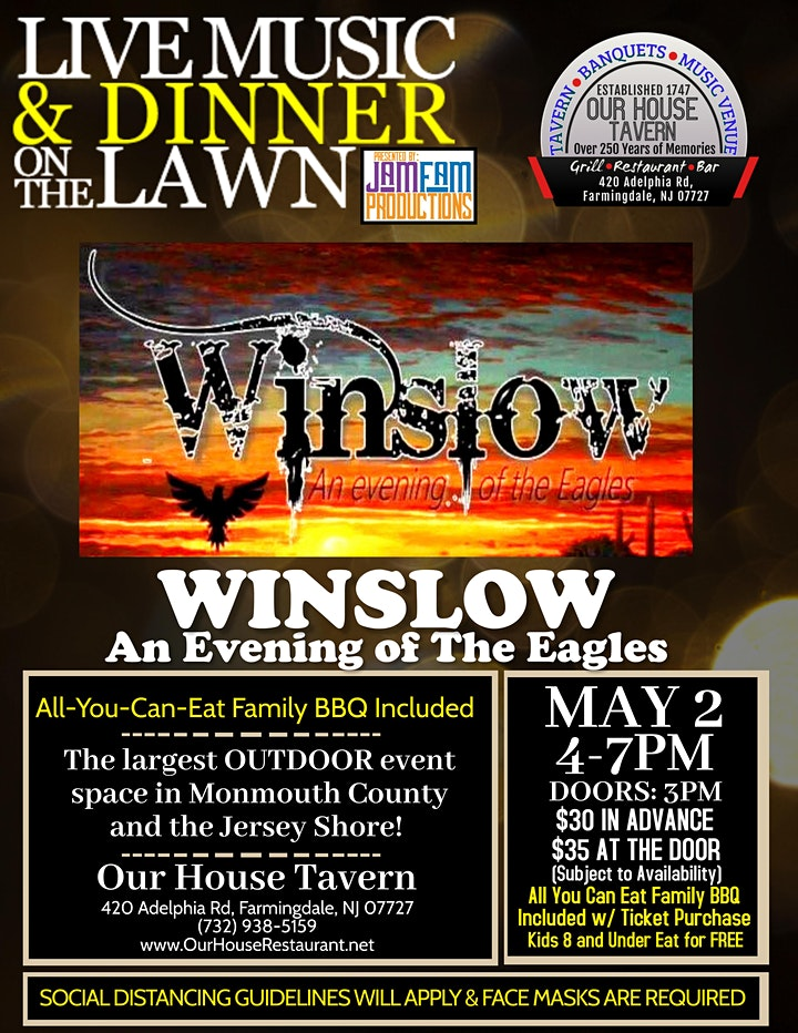 Winslow: An Evening of the Eagles @ OUR HOUSE TAVERN image