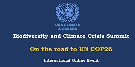 Biodiversity and Climate Crisis Summit - On the road to COP26 biglietti