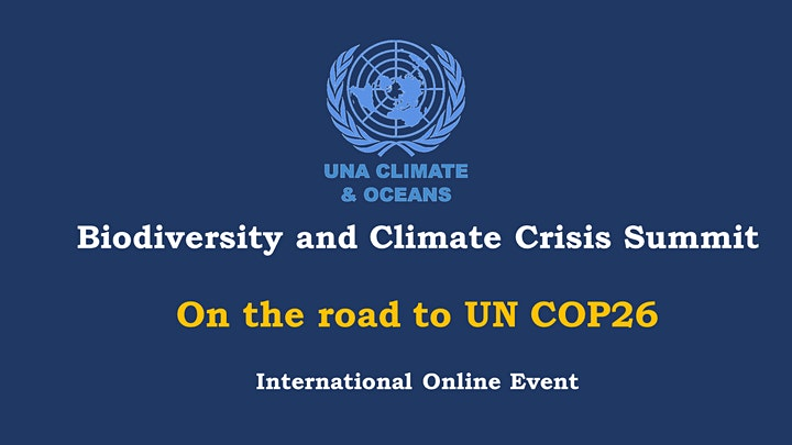 Biodiversity and Climate Crisis Summit - On the road to COP26 image