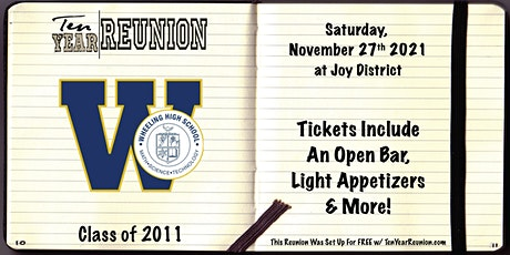 Wheeling Class of 2011: Ten Year Reunion tickets
