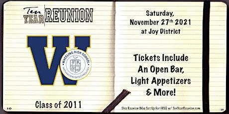 Wheeling Class of 2011: Ten Year Reunion tickets