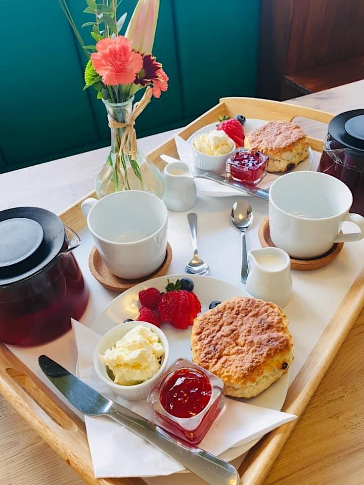 ALPACA MEET & GREET inc VIP USE of the GARDEN BELLE + COFFEE & CAKE image