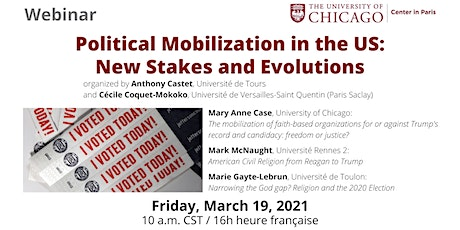Political Mobilization in the US: New Stakes and Evolutions billets