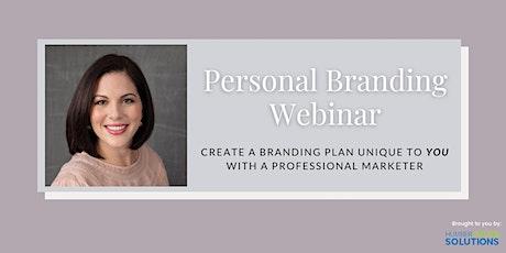 Personal Branding Webinar tickets