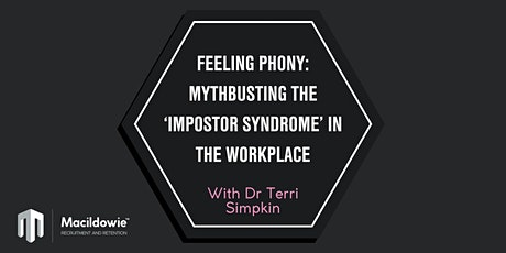 Mythbusting the 'impostor syndrome' in the workplace tickets