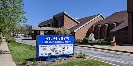 Saturday Vigil Mass Overflow-St Mary, Spring Lake tickets