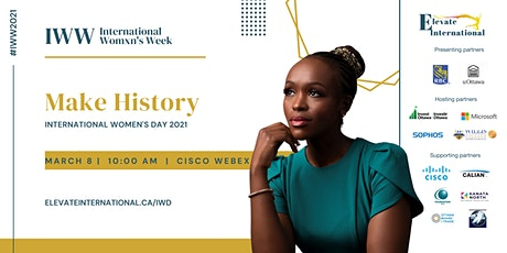 Make History - Elevate Women: An International Women's Day Celebration tickets