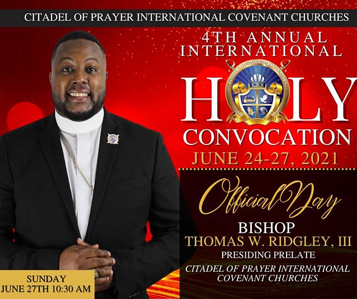 4th Annual International Holy Convocation image