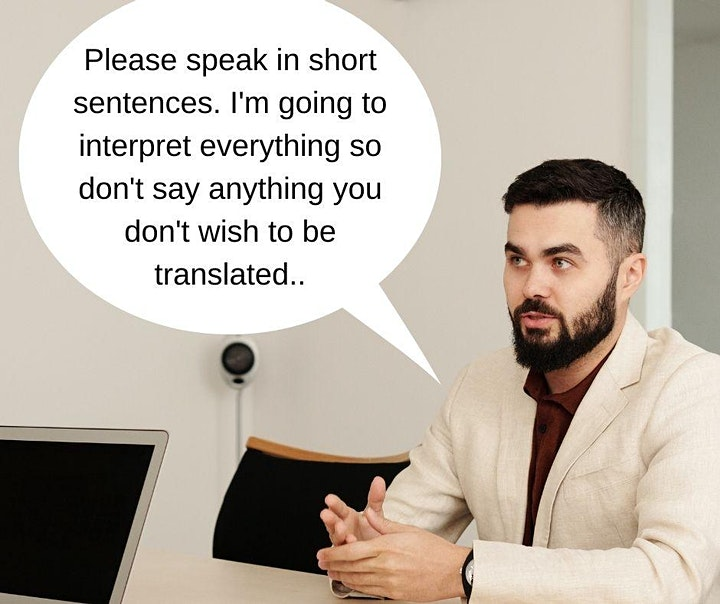 How to work effectively with an interpreter image