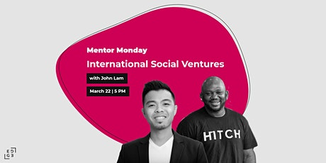 Mentor Monday: International Social Ventures tickets