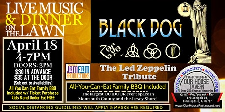 BLACK DOG: A Tribute to Led Zeppelin @ OUR HOUSE TAVERN tickets