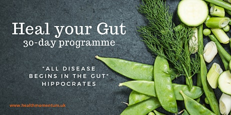 Heal Your Gut 30-day Programme Discovery Talk tickets