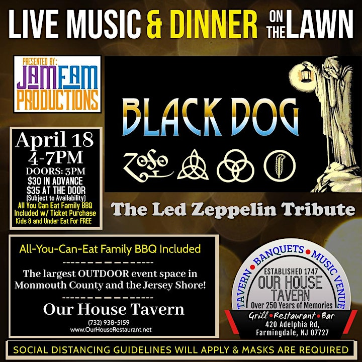 BLACK DOG: A Tribute to Led Zeppelin @ OUR HOUSE TAVERN image