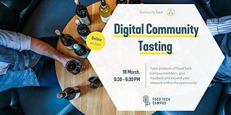 Digital Community Tasting Tickets
