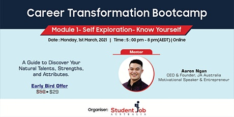 Career Transformation Bootcamp tickets