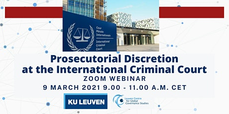 Roundtable on Prosecutorial Discretion at the International Criminal Court tickets