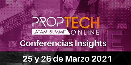 PropTech Latam Online - INSIGHTS tickets
