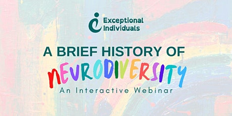 Neurodiversity: A Brief History | Interactive Webinar tickets