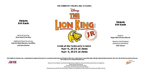 Disney's The Lion King Jr Musical tickets