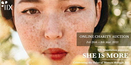 SHE IS MORE Online Charity Auction tickets