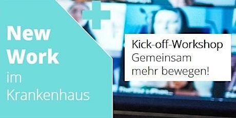 Kick-off  New Work im Krankenhaus: Gemeinsam mehr bewegen! tickets