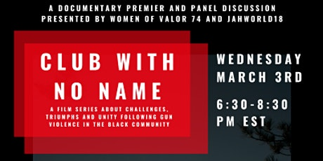 Documentary Premier and Panel Discussion tickets