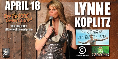 Comedian Lynne Koplitz live at Off The Hook Comedy Club in Naples, Florida tickets