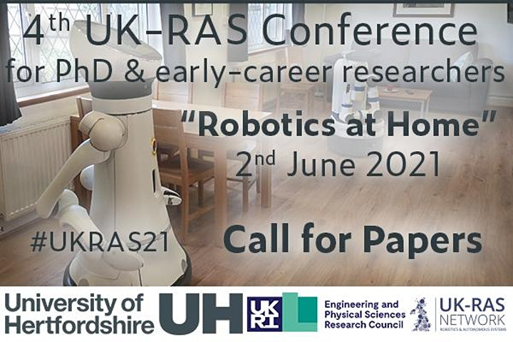 UK-RAS Conference on 'Robotics at Home' image