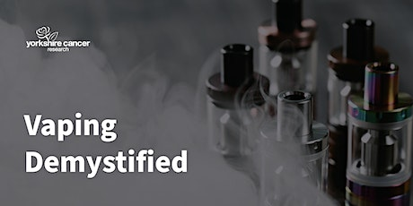 Vaping Demystified Panel Discussion tickets