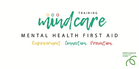 Mental Health First Aid qualification ONLINE tickets