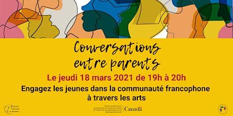 Engagez les jeunes dans la communauté francophone à travers les arts billets