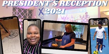 President's Reception 2021 tickets