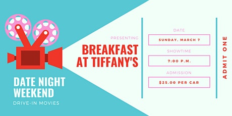 Date Night Weekend Drive-In Movie: Breakfast at Tiffany's tickets