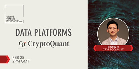 [CTI] Crypto Market Data Platforms - CryptoQuant tickets