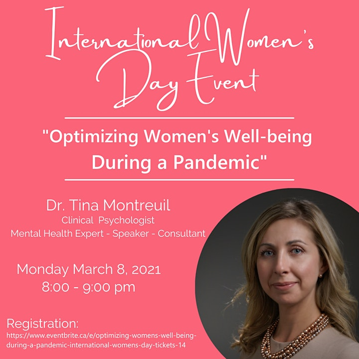 Optimizing Women's Well-Being During a Pandemic: International Women's Day image