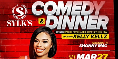 Comedy & Dinner with Kelly Kellz tickets